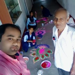 Sarhul Rangoli celebration 8th April, 2019 (1)