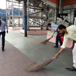 Swachhta Abhiyan at Dhanbad Station (5)